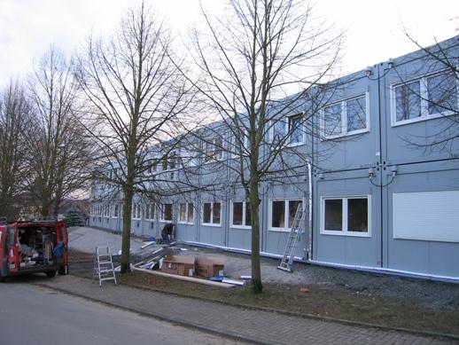 Die neuen Klassenräume...
